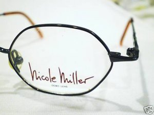 NEW NICOLE MILLER EYEGLASSES 44-20-140 MOD.SPECTRUM