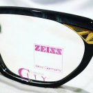 VINTAGE CARL ZEISS EYEGLASSES TURQUOIS BLACK 56X13X135
