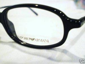 NEW EMPORIO ARMANI EYEGLASSES MOD.586 48-18-140 BLACK