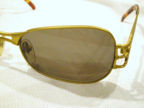 Vintage JEAN PAUL GAULTIER JPG SUNGLASSES MAT GOLD