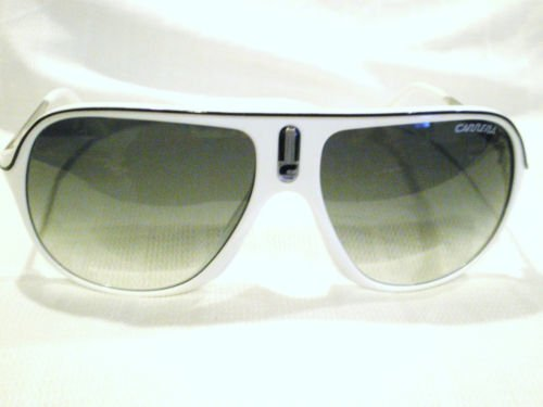 NEW CARRERA AVIATOR SUNGLASSES MOD,SAFARI WHITE BLACK