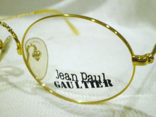 Vintage JEAN PAUL GAULTIER JPG EYEGLASSES GOLD