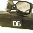 NEW Dolce Gabbana 4018B Sunglasses BLACK SILVER 61-16