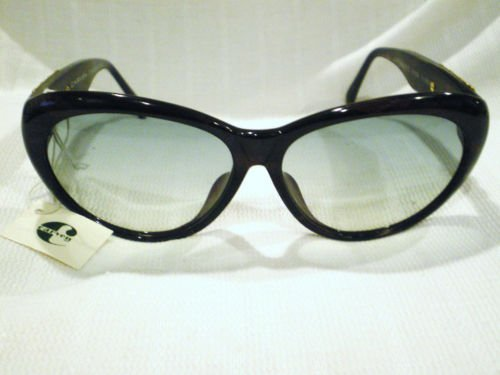 VINTAGE CARVEN SUNGLASSES DARK BROWN MOD.VIOLETTI