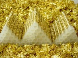 WHOLESALE PRICING FACETED GEMS JEWELS & GOLD LEAF VIALS