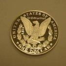 1890 cc MORGAN SILVER DOLLAR $1 GALLERY COPY PROOF COIN