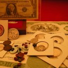 ESTATE SALE GOLD SILVER COINS ART BAR SAPPHIRES RUBIES