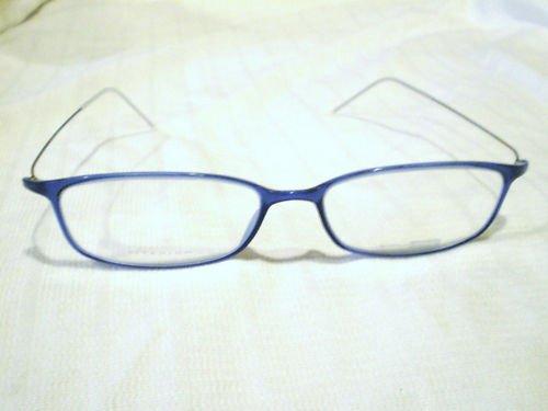 New SAFILO DESIGN Eyeglasses TITANIUM DARK BLUE