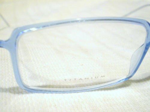 New SAFILO DESIGN Eyeglasses TITANIUM TRANSPARENT BLUE