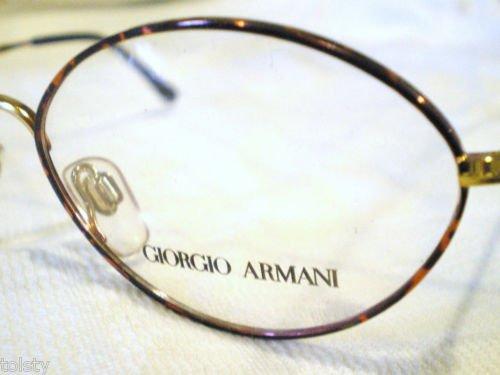 VINTAGE GIORGIO ARMANI EYEGLASSES TORTOISE GOLD  M221