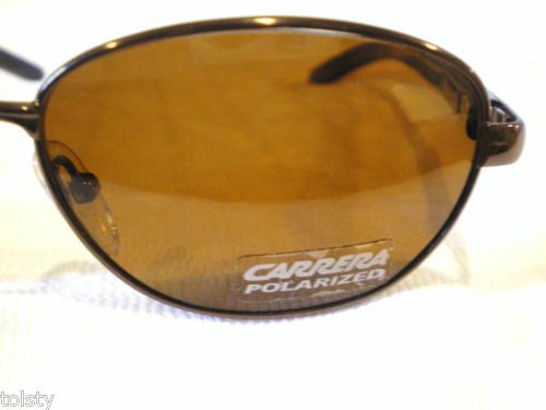 NEW CARRERA Sunglasses POLARIZED BROWN  SPRING HINGES
