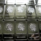 10 - TEN GRAM .999 SILVER CLAD AMERICAN INDIAN ART BARS