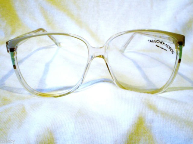 VINTAGE  EYEGLASSES  TAUCHEK-NORDIC  MADE IN GERMANY MOD.HOLLYWOOD  58-14-140