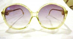 VINTAGE  70s sunglasses Da Vinci Roma Mod#5004-DY LARGE SUNGLASSES UNIQUE