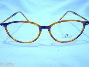 NEW RODENSTOCK  EYEGLASSES LIGHT TORTOISE  50-15-135 UNIQUE MADE IN ITALY