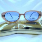 JEAN PAUL GAULTIER JPG SUNGLASSES  MAGNETIC CLIP-ON EYEGLASSES  SILVER PURPLE