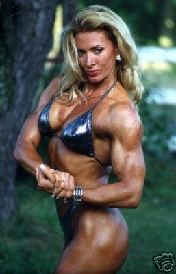 Female Bodybuilder Debbie Kruck Wpw 325 Dvd Or Vhs