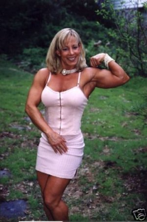Female Bodybuilder Michele Burdick WPW-531 DVD or VHS