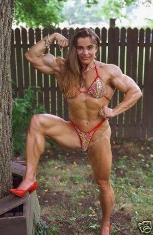 Female Bodybuilder Zuzana Korinkova WPW-308 DVD or VHS