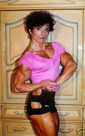 Female Bodybuilder Christa Bauch RM-11 DVD