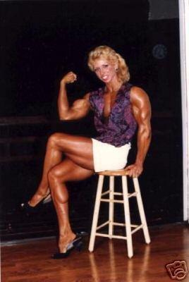 Female Bodybuilder Kris Luebke WPW-209 DVD or VHS