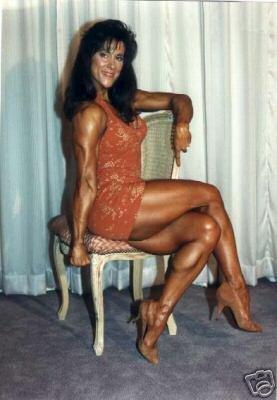 Female Bodybuilder Janet Tech Wpw 211 Dvd Or Vhs
