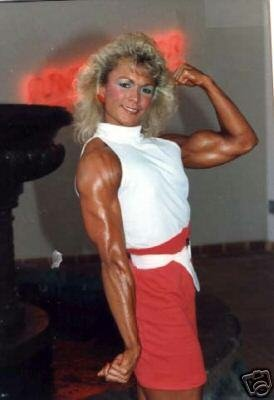 6 Female Bodybuilders From The 80's WPW-128 DVD