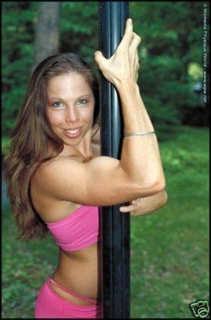 Female Bodybuilder Allison Jones WPW-645 DVD or VHS