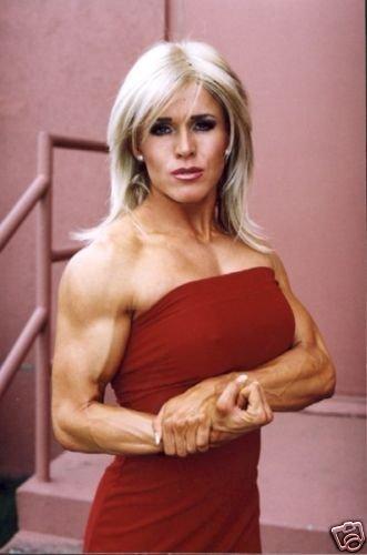 Female Bodybuilder Amber Black Wpw-610 Dvd Or Vhs-9756
