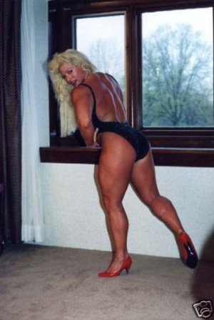 Female Bodybuilder Doughdee Marie WPW-189 DVD or VHS