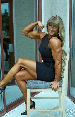 Female Bodybuilder Joanne Lee WPW-243 DVD or VHS