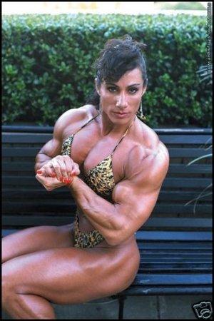Female Bodybuilder Annie Riviecchio WPW-326 DVD or VHS