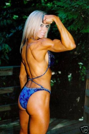 Female Bodybuilder Heidi Hansen WPW-749 DVD