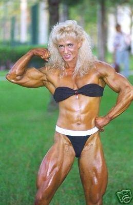 Female Bodybuilder Judy Moshkowski WPW-220 DVD or VHS