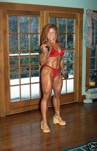 Female Bodybuilder Jennifer Abams WPW-516 DVD or VHS
