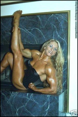 Female Bodybuilder Lindsay Mulinazzi RM-208 DVD