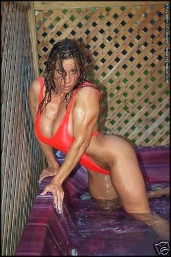 Female Bodybuilder Sheena Bocciolone Rm 199 Dvd