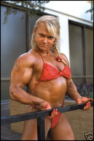 Female Bodybuilder Tami Wooden RM-159 DVD