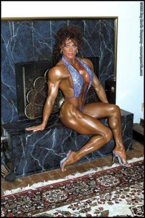 Female Bodybuilder Diana Dennis RM-167 DVD