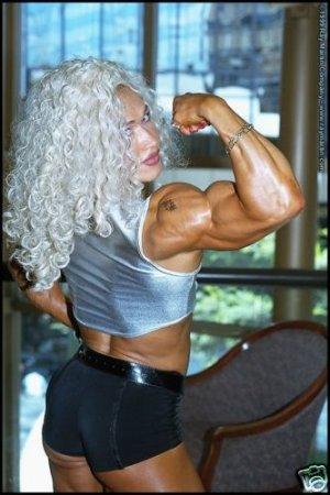 Female Bodybuilder Inna Uit RM-137 DVD