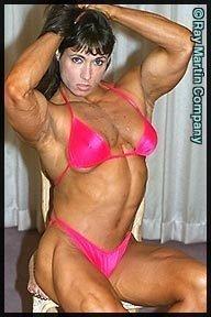 Female Bodybuilder Tazzie Colomb RM-110 DVD