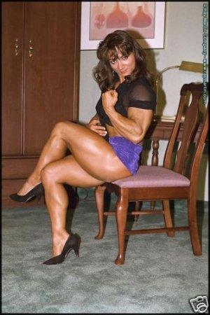 Female Bodybuilder Linda Battaglia RM-65 DVD