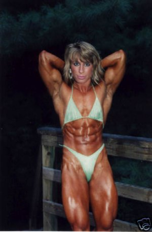 Female Bodybuilder Sharon Marvel WPW-161 DVD or VHS
