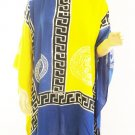 Kaftan Caftan Tunic Top Poncho Batik 5X-Abstract P033