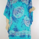 Kaftan Caftan Tunic Top Poncho Batik 5X-Abstract P089