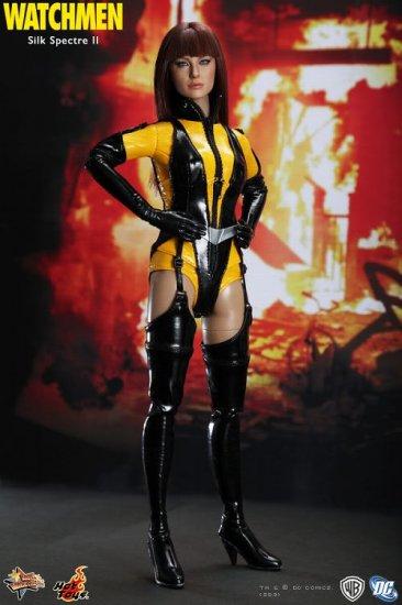 Hot Toys Watchmen Silk Spectre  II 12 inch Figure