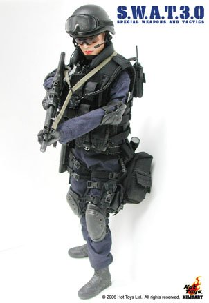 """Hot Toys 1/6 Scale 12"""" SWAT 3.0 - Female Action Figure"""