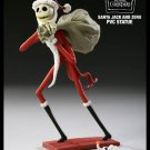 Nightmare Before Christmas Santa Jack & Zero PVC Figure