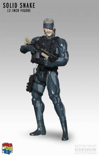 Medicom RAH Metal Gear Solid 4 Old Snake 12 Inch Figure