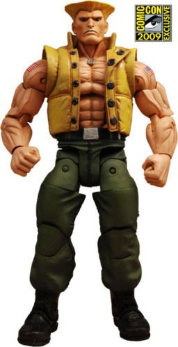 NECA Street Fighter 4 Guile in Charlie Costume SDCC